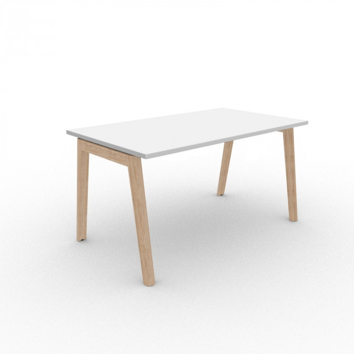 Nova Wood skrivebord hvit
