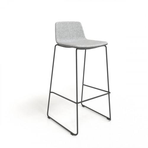 Tango barstol med stålunderstell